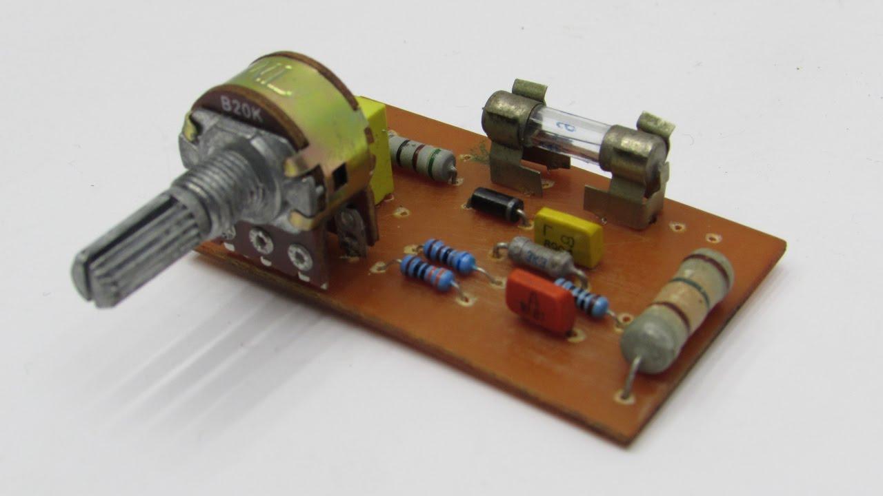 Простейшее зарядное устройство