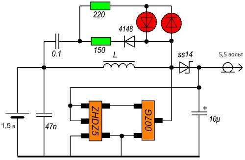 Схема подключения солнечных панелей