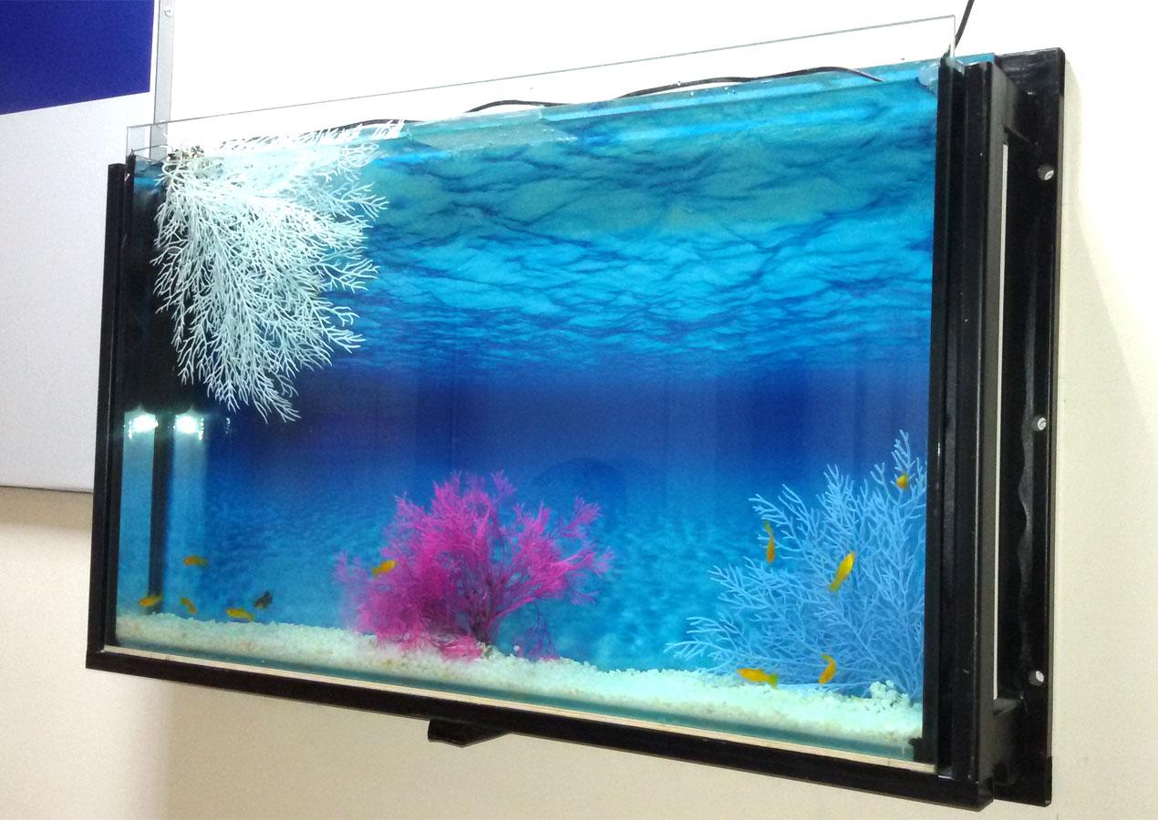 Как сделать картину аквариум