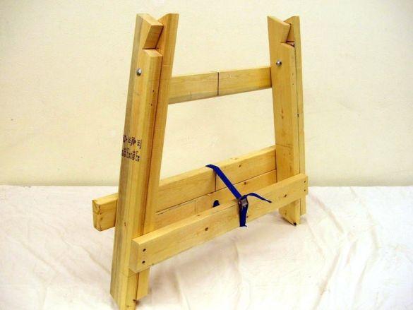 Как сделать строительный козлик