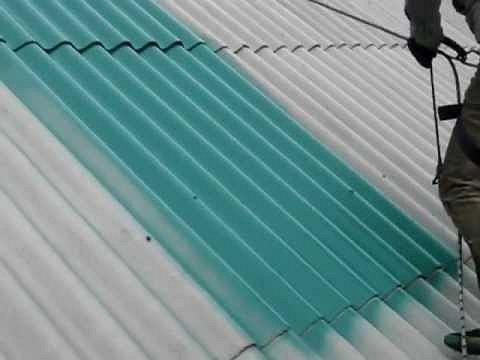Выбор краски для шифера