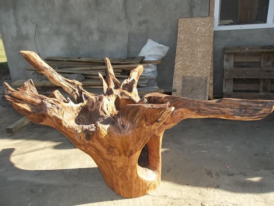 Изделия из корней