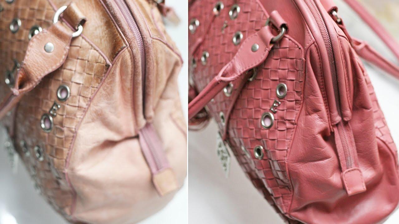 Методы реставрации своей сумочки